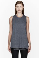 Rad By Rad Hourani Heather Grey Unisex Tank Top - Lyst