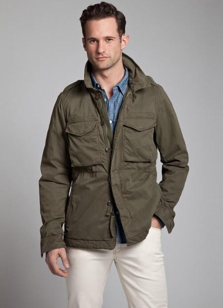 Relwen Tropical Field Jacket Dark Olive in Green for Men | Lyst