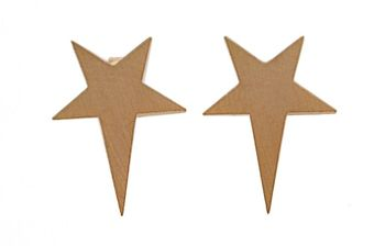 Ziba Layered Star Stud Earrings - Lyst