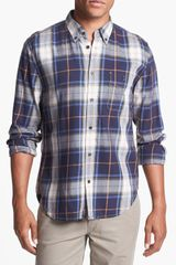 7 For All Mankind Plaid Shirt - Lyst