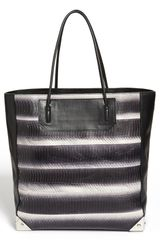 Alexander Wang Prisma Painted Genuine Snakeskin Leather Tote - Lyst