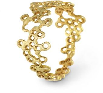 Arosha Luigi Taglia Lace Ring in 14k Solid Gold - Lyst
