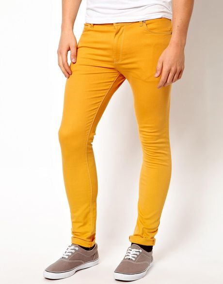 Find great deals on eBay for yellow skinny jeans men. Shop with confidence.