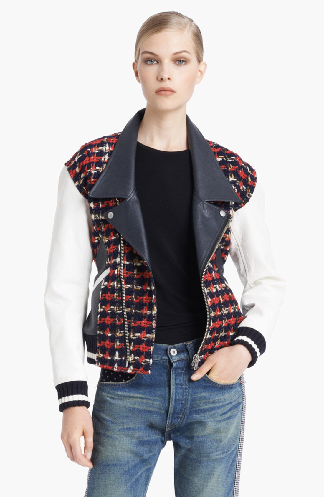 Junya Watanabe leather bar jacket | Heroes , muses and loved ones