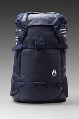 Nixon Landlock Backpack in Navy - Lyst