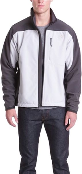 Purchase North Face Mens Bionic Jackets - Clothing The North Face Apex Bionic Climateblock Windproof Jacket High Rise Grey