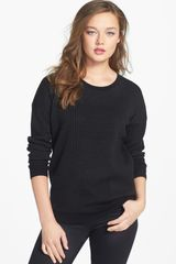 Theory Tollie Wool Blend Sweater - Lyst