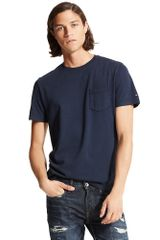 Tommy Hilfiger Custom Fit Pocket Crew Neck Tee Shirt - Lyst