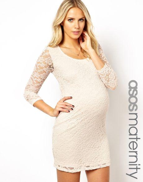 Maternity White Lace Dress Dress Gallery