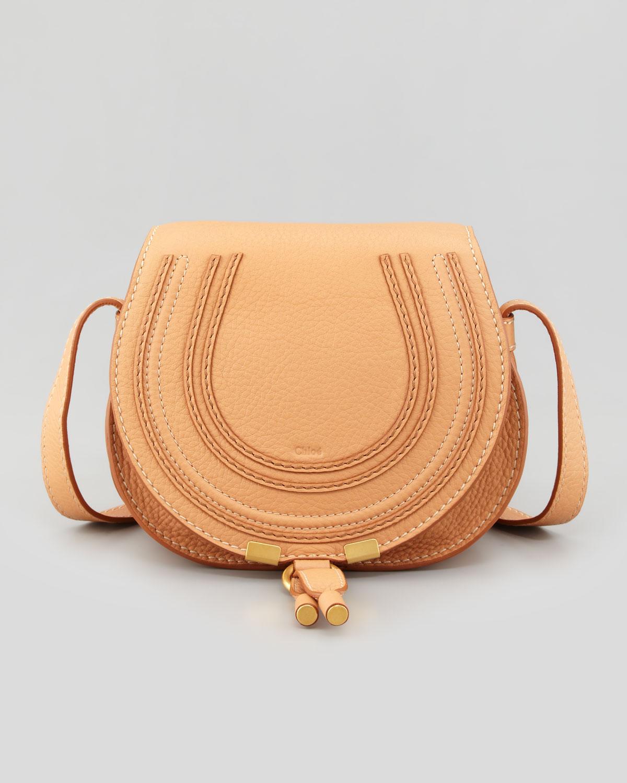 chlo marcie small satchel bag rose milk in beige rose. Black Bedroom Furniture Sets. Home Design Ideas
