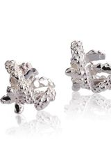 Hayley Gerry J Collection Silver Cufflinks