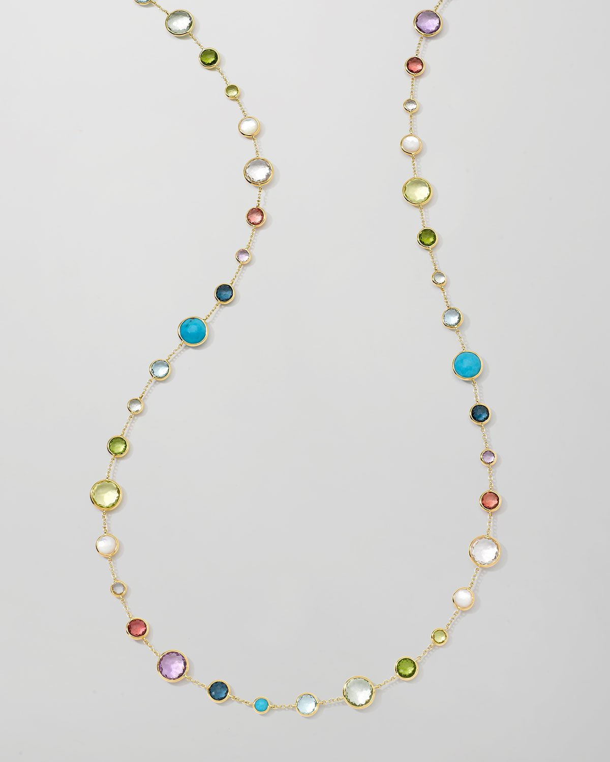 Ippolita 18k Gold Rock Candy Lollitini Necklace in Multi, 36