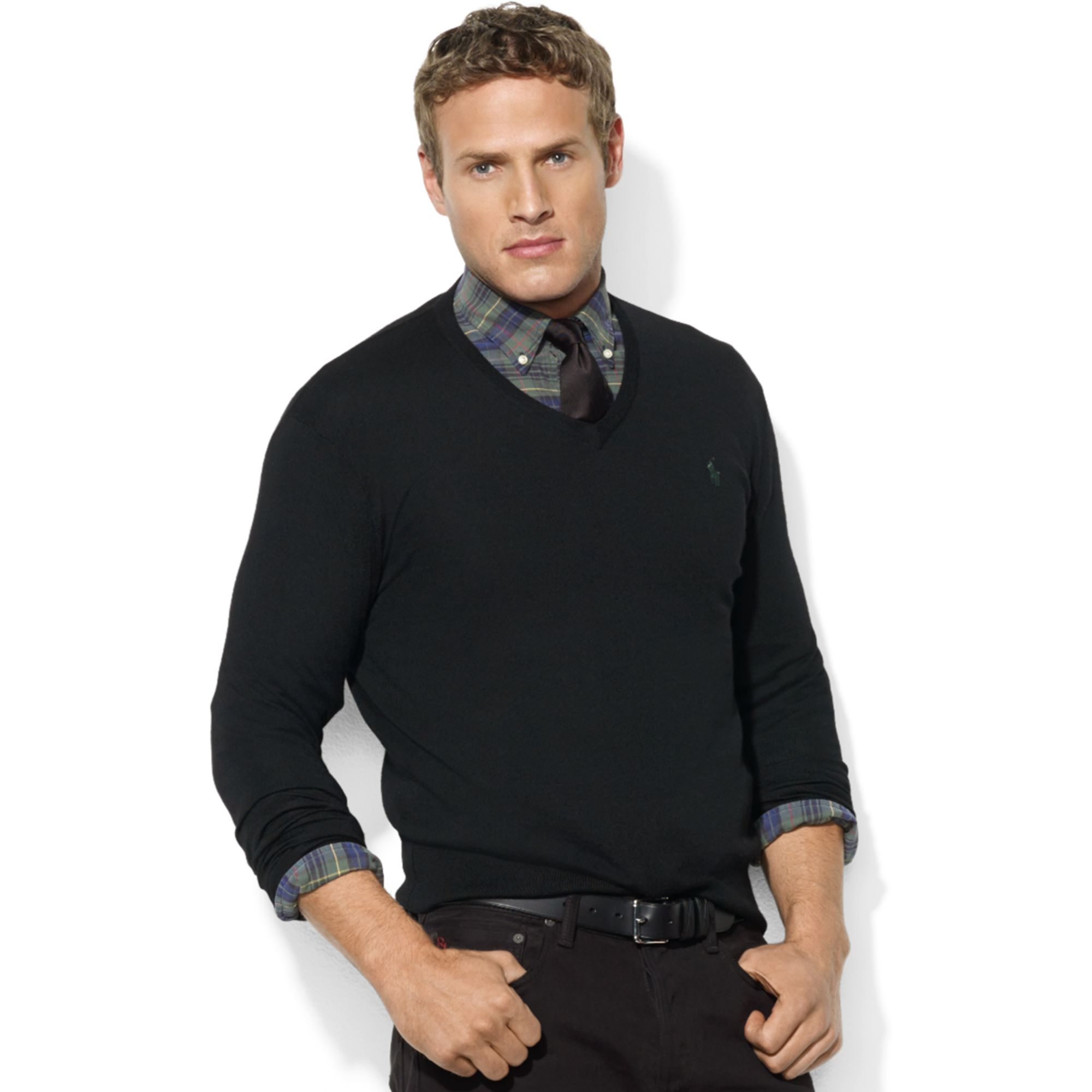 Enjoy free shipping and easy returns every day at Kohl's. Find great deals on Mens Black V-Neck Sweaters at Kohl's today!