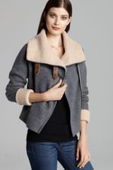 Twelfth Street by Cynthia Vincent Jacket Boiled Wool Moto - Lyst