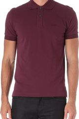 Hugo Boss Piquecotton Polo Shirt - Lyst