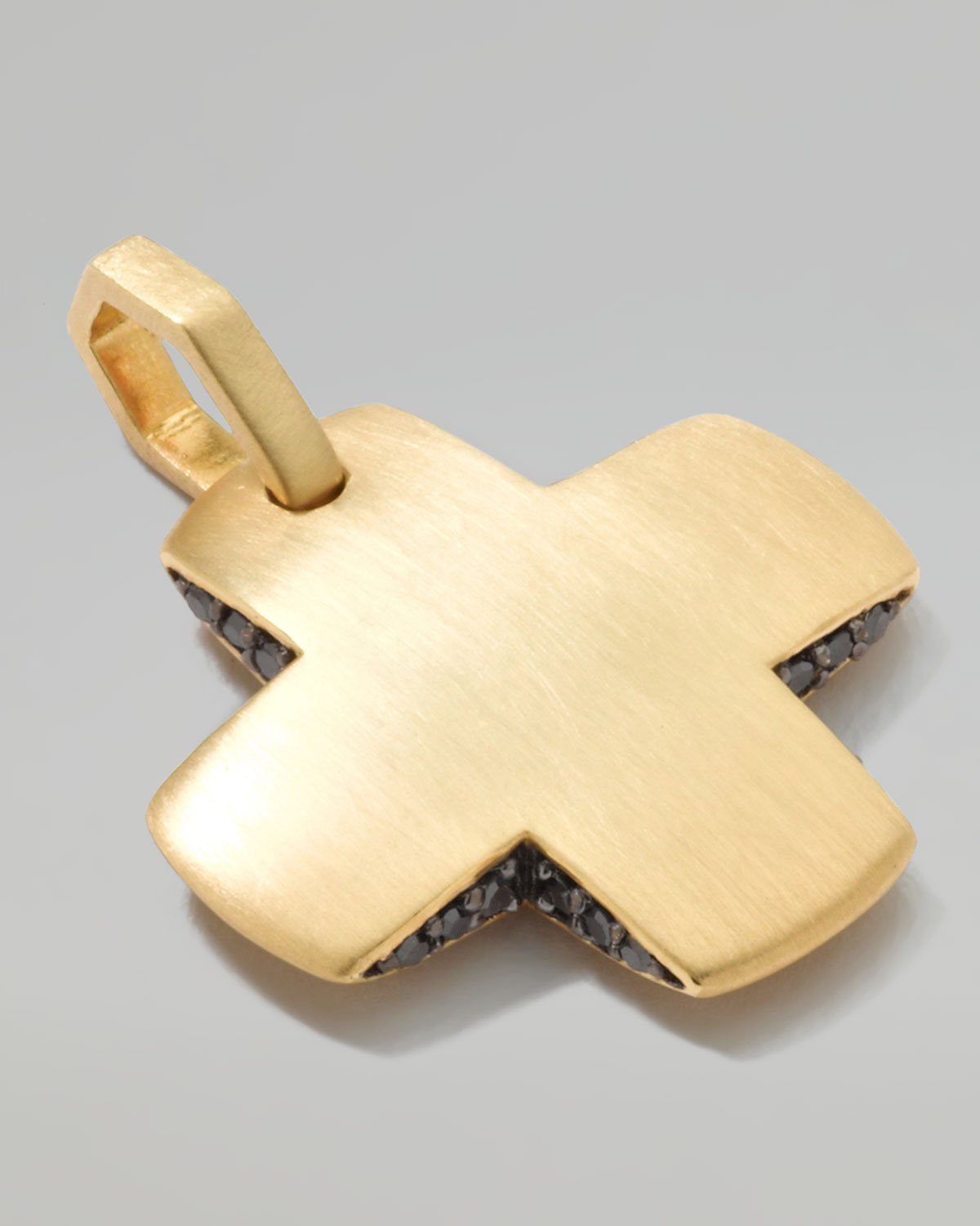 and anatol necklace jewellery square pendant product gold y daily diamond cross necklaces sparkle