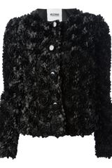 Moschino Cheap & Chic Textured Jacket - Lyst