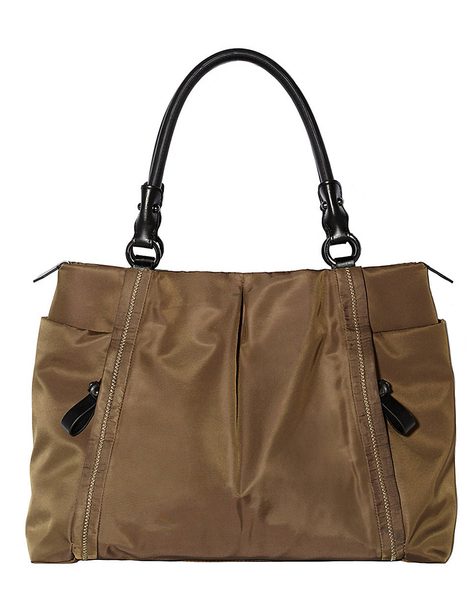 Lyst Vince Camuto Cris Nylon Tote Bag In Natural