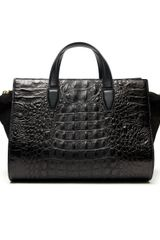Alexander Wang Pelican Crocodile Embossed Bag - Lyst