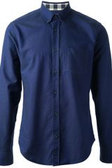 Burberry Brit Button Down Collar Shirt - Lyst