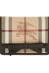 Burberry Prorsum Haymarket Check Purse - Lyst