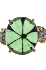 Cathy Waterman Leafside Ring - Lyst