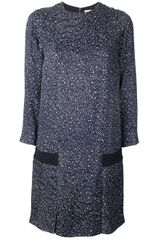 Chloé Printed Dress - Lyst