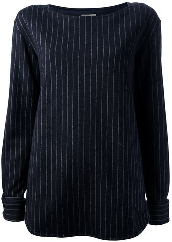 Coast + Weber + Ahaus Pin Stripe Top - Lyst