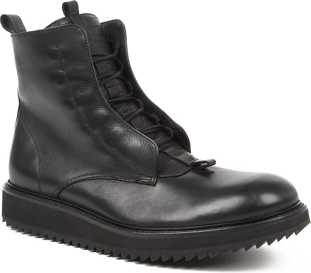 Damir Doma Fusco Ripple Sole Boots In Black For Men Lyst