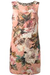 Dolce & Gabbana Wool Blend Sleeveless Dress - Lyst