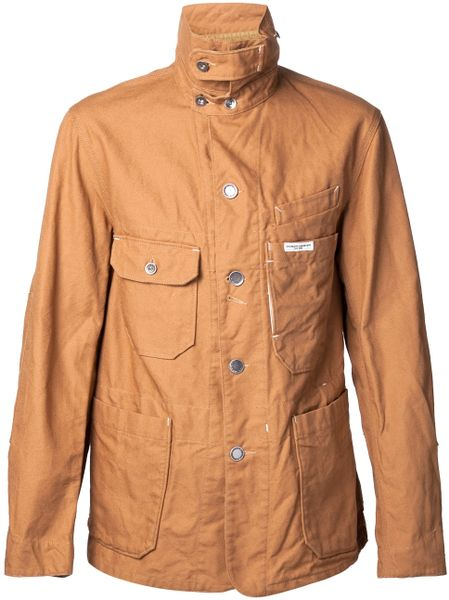 Engineered Garments Coverall Jacket in Brown for Men | Lyst