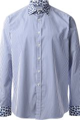 Etro Striped Shirt - Lyst