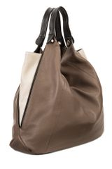 Furla Elisabeth Buckle Hobo Bag in Brown - Lyst