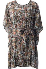 Henrik Vibskov Printed Oversize Dress - Lyst