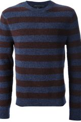 Marc By Marc Jacobs Striped Sweater - Lyst