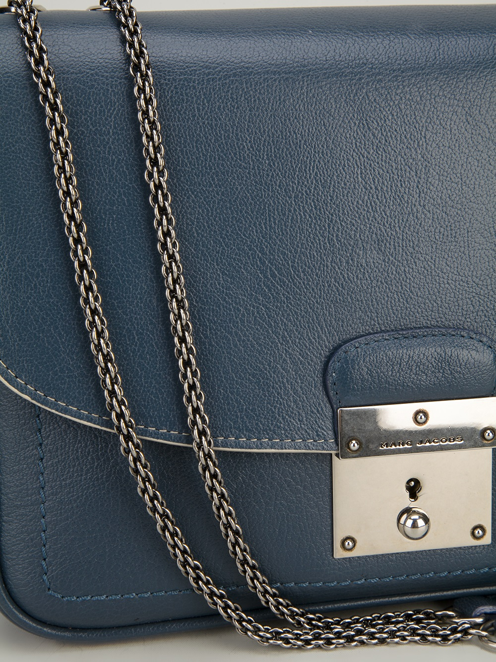 Lyst Marc Jacobs Mini Polly Bag In Blue
