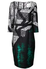 Mary Katrantzou Abstract Print Dress - Lyst