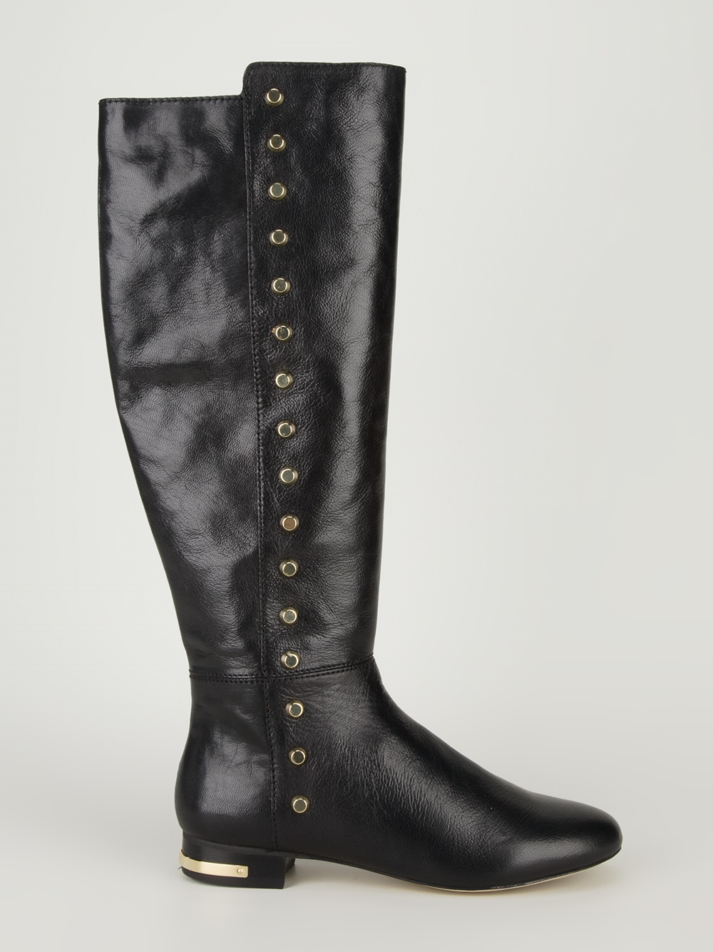 Michael Kors Studded Riding Boot In Black Lyst