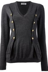 Moschino Cheap & Chic Long Sleeve Sweater - Lyst