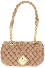 Moschino Small Quilted Shoulder Bag - Lyst