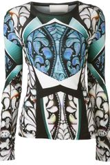 Peter Pilotto Eleni Top - Lyst