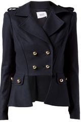 Prabal Gurung Military Peplum Jacket - Lyst
