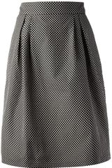 Spijkers En Spijkers Polka Dot High Waisted Skirt - Lyst
