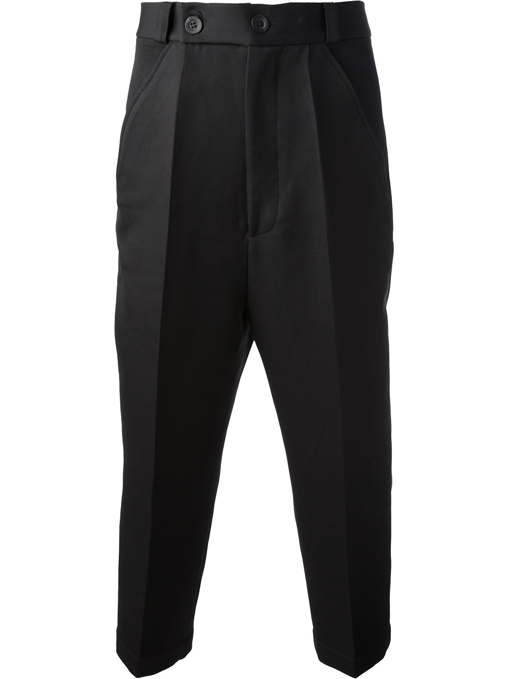 Thamanyah Tailored Pants in Black for Men | Lyst