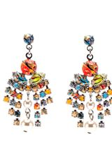 Tom Binns Center Drop Earring - Lyst
