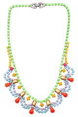 Tom Binns Scalloped Shape Necklace - Lyst