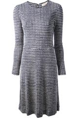 Tory Burch Printed Blaine Dress - Lyst