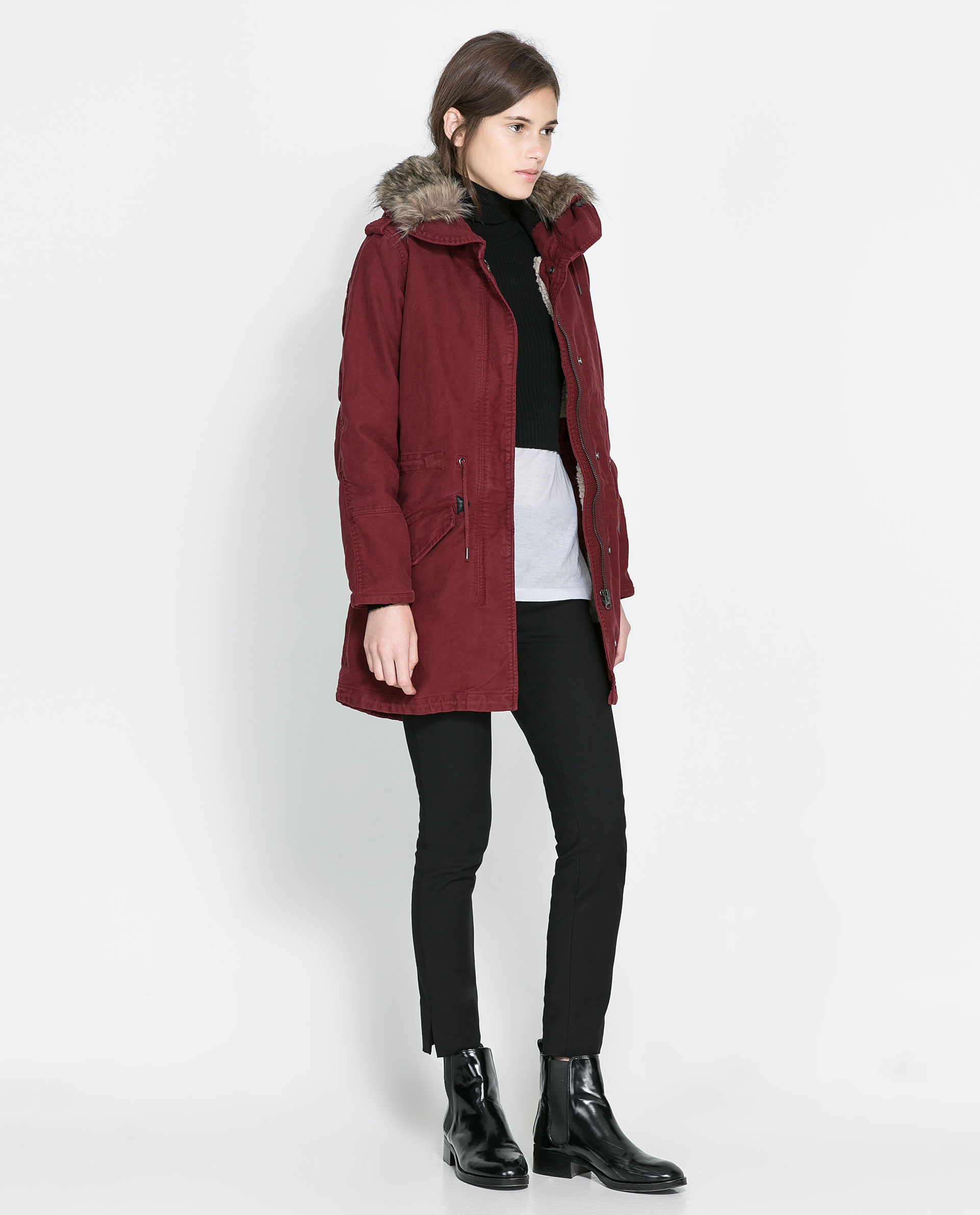 Women's winter parka zara – Modern fashion jacket photo blog
