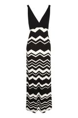 Jane Norman Chevron Maxi Dress - Lyst