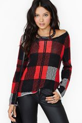 Nasty Gal Rush Knit - Lyst